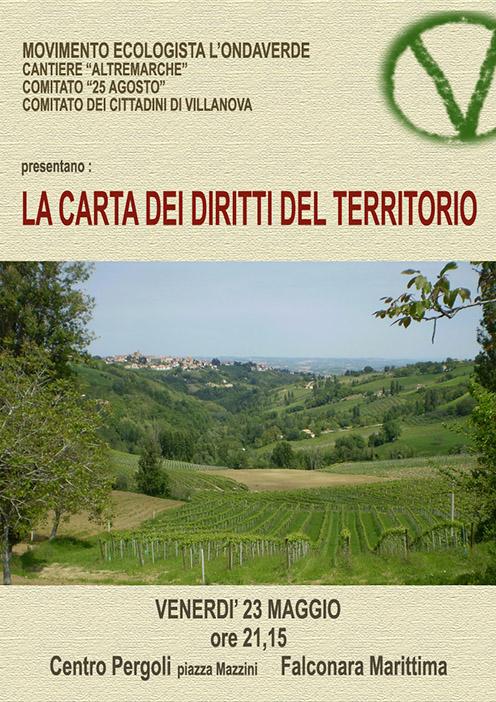 presentazione carta diritti del territorio