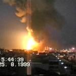 l'incendio del 25 agosto 1999