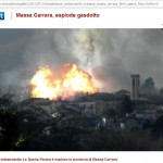 incendio metanodotto Tresana