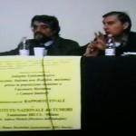 dott. Andrea Micheli (INT) e dott. Mauro Mariottini (ARPA Marche)