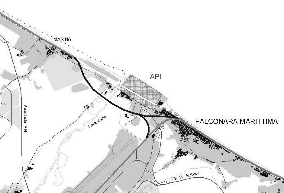bypass ferroviario attuale